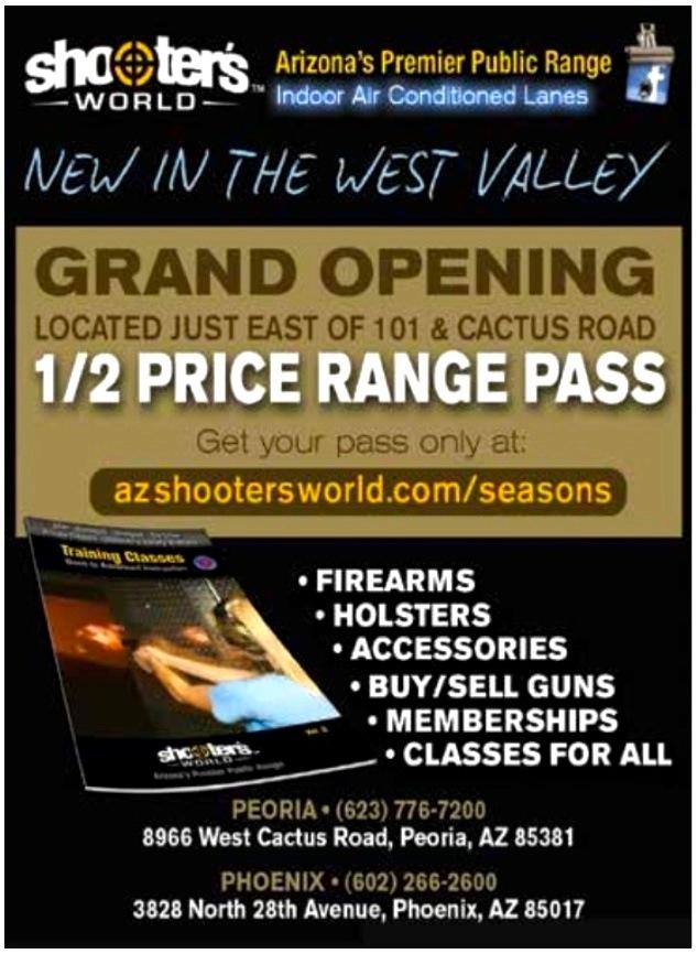 AZ SEASONS MAGAZINE ONLINE (SHOOTERS WORLD) | Az Seasons Magazine on