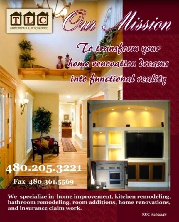 Kitchen Renovation Tax Deduction: TLC HOME REPAIR & RENOVATIONS @AZSEASONSMAGAZINE
