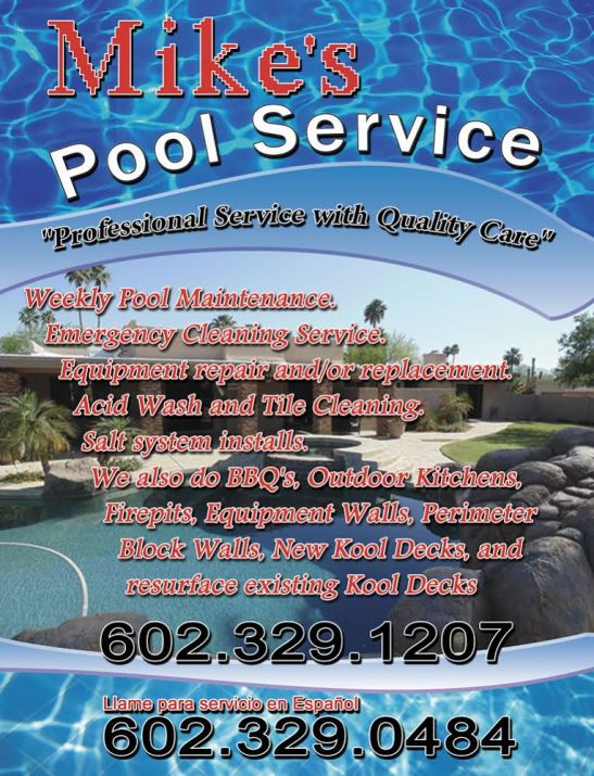 MIKE'S POOL SERVICE