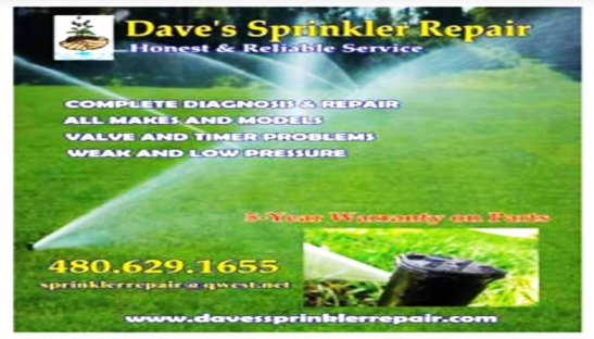 DAVES SPRINKLER REPAIR