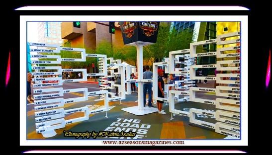 FINAL FOUR BRACKET #arizona #az #finalfour #KalvinArailias  #ncaa #arizona #az #northcarolina #nc #basketball #highschool #college #recruiter #sponsor #talent #entertainment #scout #kids #family #activities #tournament #elite #mvp #champion #ball #basketball #nba #bar #club #resort #casino #hotel #suite #apparel