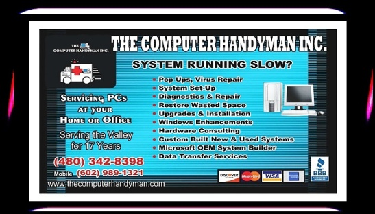 THE COMPUTER HANDYMAN INC #THECOMPUTERHANDYMANINC #arizona #az #goldcanyon #apachejunction #tucson #phoenix #lasvegas #california #newyork #texas #miami #colorado #houston #canada #japan #chicago #newyorkcity #atlanta #LasVegasNevada #NV #NY #SEO #Branding #B2B #KalvinArailias #scottsdale #tempe #glendale #mesa #chandler #gilbert #hotel #tucson #marana #eloy #casagrande #florence #queencreek #coolidge #YouTube #WordPress #Pinterest #Blogger #Tumblr #Foursquare #Craigslist #LinkedIn #GooglePlus #Instagram #portrait