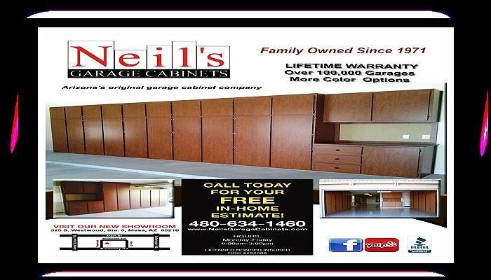 neil's #garage #cabinets #mesaarizona #scottsdalearizona