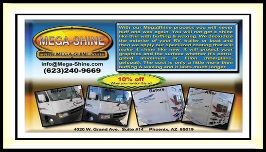 #MEGA #SHINE (623) 240-9669 #waxing #buffing #protect 4020 W Grand Ave. #Phoenix #AZ @AzSeasonsMag @AzSeasons #wax #buff www.mega-shine.com
