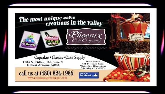 #PHOENIX #CAKE #COMPANY #bakery #treats #cupcakes #supply #boutique #classes (480) 824-1986 @AZSeasonsMag @AzSeasons www.phoenixcakecompany.com