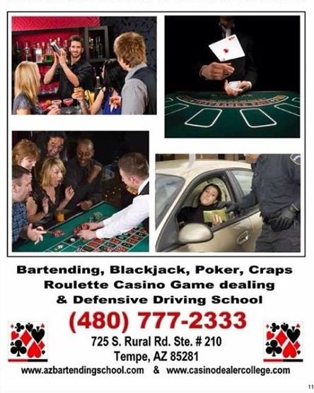 ​A Great Career | By Cosmo and Nikki Raymond #craps #poker #roulettewheels #blackjack #slotmachine #videogames #bars #clubs #casino #schools #career #degree #Jobs @AzSeasonsMag @AzSeasons  azseasonsmagazines.com