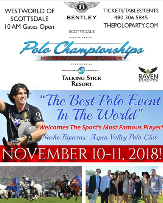 RAVEN EVENTS #RAVENEVENTS #KalvinArailias #onlinemagazine #media #marketing #advertisingaz LINE azseasonsmagazines.com#arizona #az #scottsdalearizona #scottsdaleaz #phoenixarizona #phoenixaz #ralphlauren #model #modelagency #polo #championship #pro #professional #westworld#horse #horsepower #poloparty#nachofigueras #aspenvalleypoloclub#event #promoter #vendor #owner #business #bentley #bentleyscottsdale #bentleyscottsdalepolochampionship #tempearizona #mesaarizona #glendalearizona #yumaaz #globearizona #prescottarizona #KalvinArailias